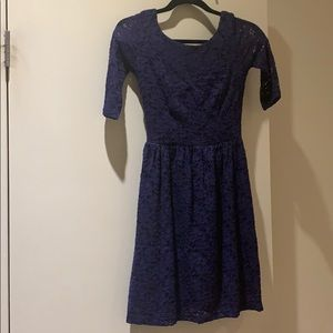 Blue mystic dress